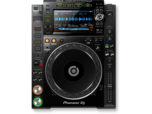 Pioneer CDJ-2000NXS2 Pro CD Player with High Res Audio Support