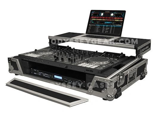 Odyssey FZGSMCX8000W Flight Zone® Case for Denon MCX8000 DJ Controlller
