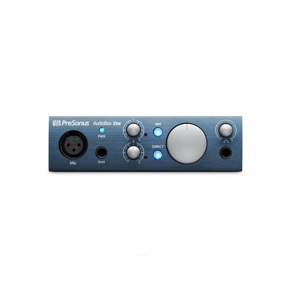 PreSonus AudioBox iOne 2x2 USB / iPad Recording System