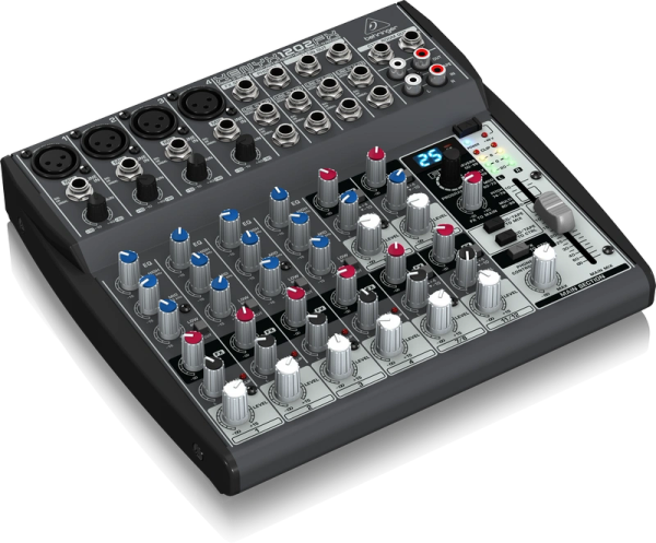 Behringer Xenyx 1202FX 12-Input 2-Bus Mixer with Multi-FX Processor