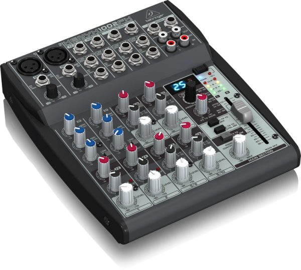 Behringer Xenyx 1002FX 10-Input 2-Bus Mixer w/Effects