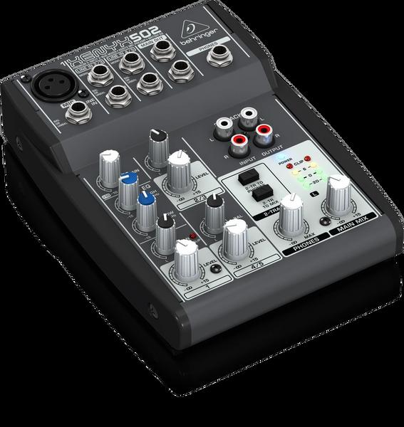 Behringer Xenyx 502 5-Input 2-Bus Mixer