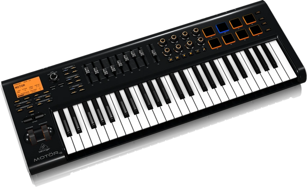 Behringer MOTOR 49 49-Key USB/MIDI Master Controller Keyboard