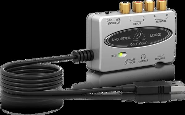 Behringer UCA202 USB Audio Interface