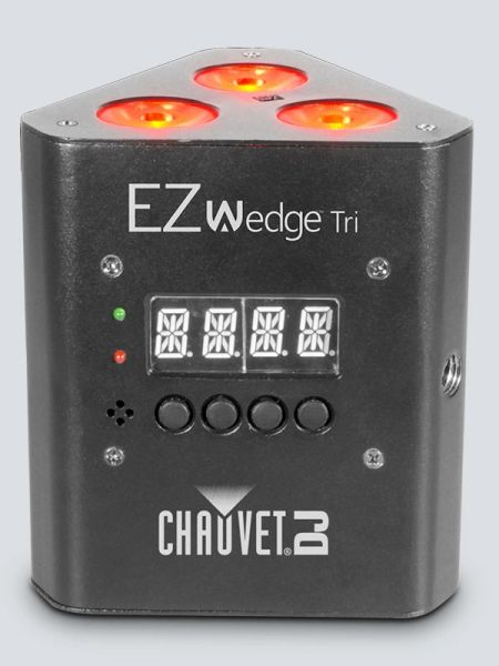 Chauvet DJ EZWedge Tri Battery Powered LED Wash Light