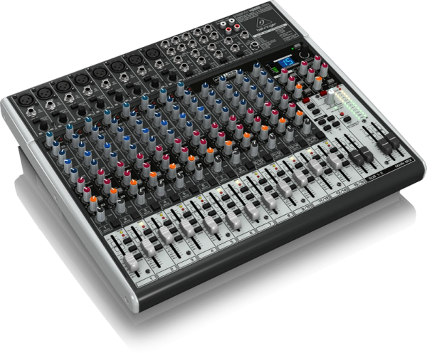 Behringer Xenyx X2222USB 22-Input Mixer with USB and FX