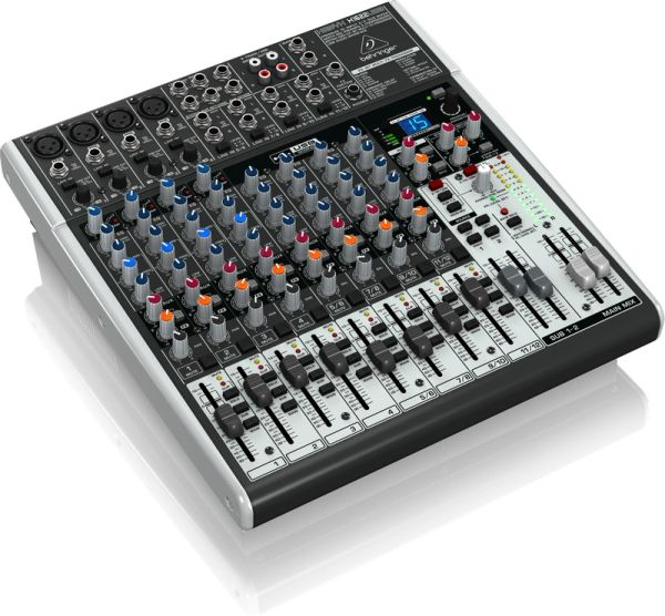 Behringer Xenyx X1622USB 16-Input Mixer with USB and FX