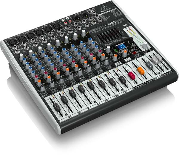 Behringer Xenyx X1222USB 16-Input Mixer with USB and FX