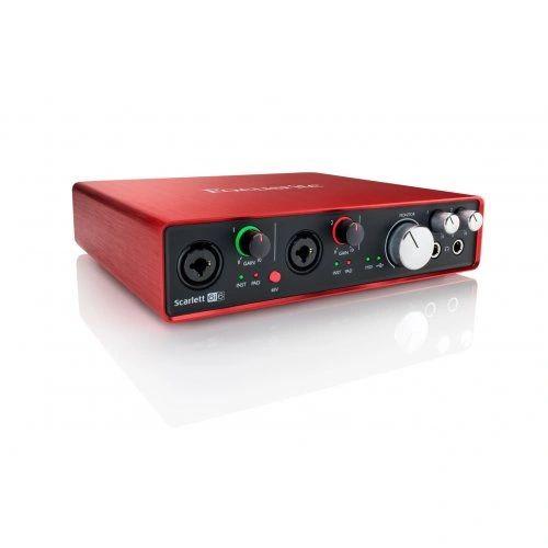 Focusrite Scarlett 6i6 MK2 USB Audio Interface