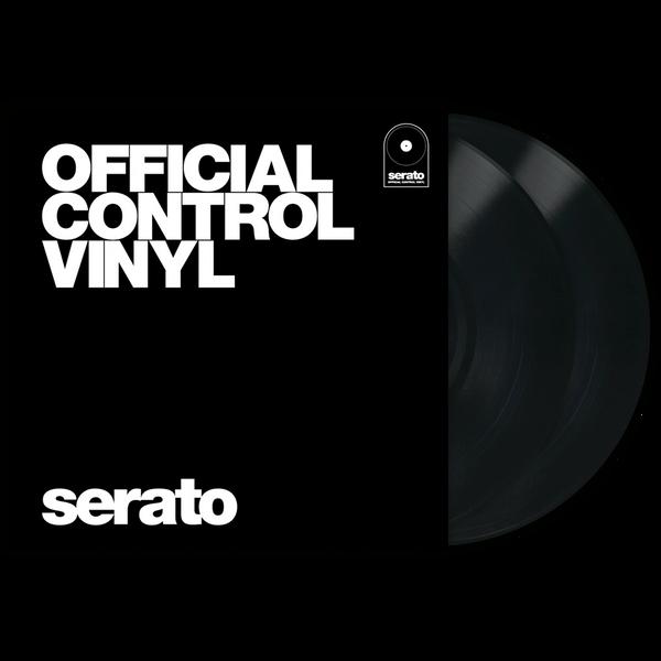 Serato Control Vinyl Black (Pair)