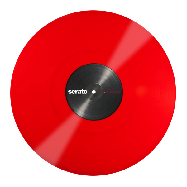 Serato Control Vinyl Red (Pair)