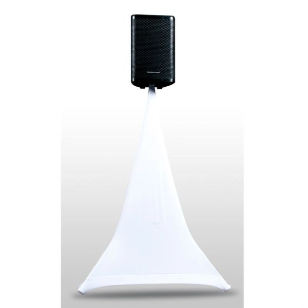 ADJ Event Stand Scrim 1W - Single Sided White Speaker Stand Scrim