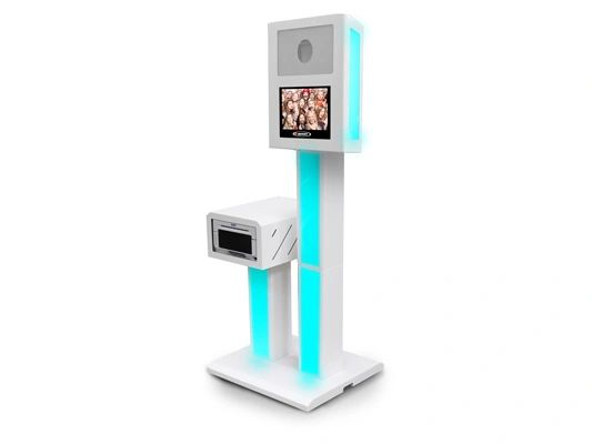 Odyssey PBSCS02CL Photo Party Booth with Built-In Continuous Lighting Modeling LED