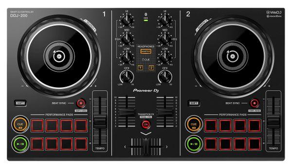 Pioneer DJ DDJ-200 Smart Bluetooth Controller