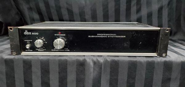 Used DBX 500 Professional Subharmonic Synthesizer