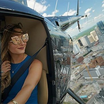 Take a private helicopter tour of Nashville, Tennessee. You pick the location.