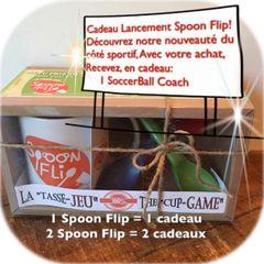 SPOON FLIP 30$ TOUT INCLUS (Tx. et shipping incl.)+ 1 CADEAU PROMO LANCEMENT