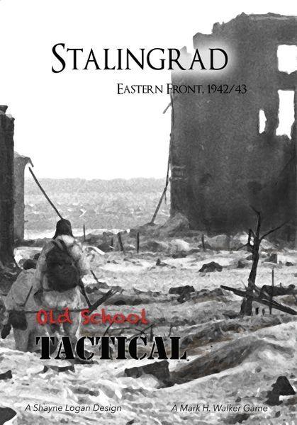 Old School Tactical Stalingrad Expansion REPRINT EMPTY BOX