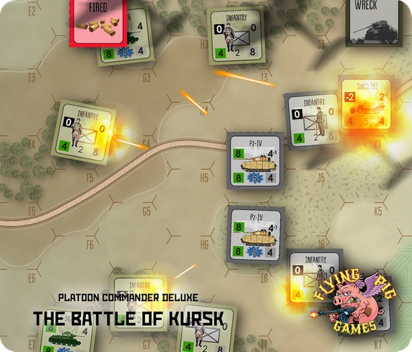 Platoon Commander Deluxe: The Battle of Kursk Mousepad