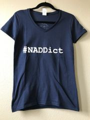NADDict V-Neck Tee (Ladies)