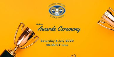 Cyprus Rugby online awards ceremony 24 July 2020
