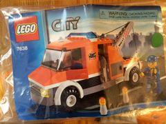7638 orange tow truck