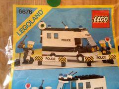 6676 police van