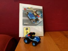4301 blue racer polybag
