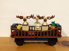 sp96 10254 custom reindeer car
