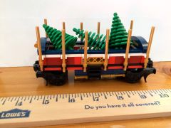 sp97 10254 custom xmas tree car