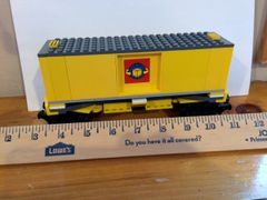 sp32 7939 lg box car yellow