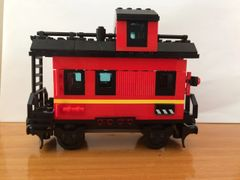 sp80 10014 red caboose