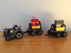 7628-1 tractor & 2 trailers