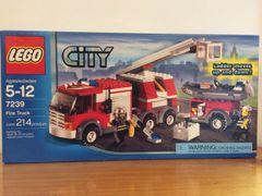 7239 fire truck & trailer