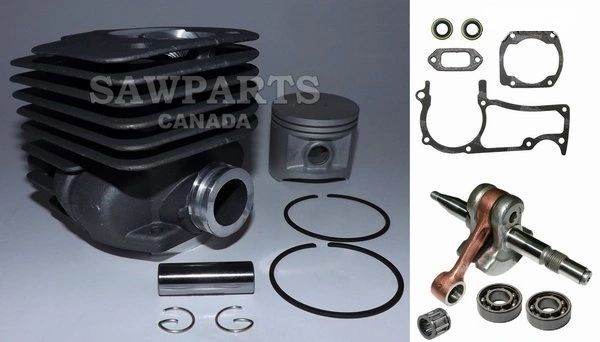 HUSQVARNA 362, 365*, 371, 371K, 372*, 372K*, 375*, 375K* Jonsered 2063, 2065, 2071, 2163, 2171 OVERHAUL REBUILD KIT STANDARD 50MM