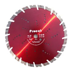 ">14"" LASER WELDED DIAMOND wet-dry SAW BLADE"
