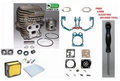 <>HUSQVARNA, Partner K760 CYLINDER KIT NIKASIL 51MM 3 Bearing-Seal-Filter-Gasket