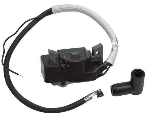 <>Wacker WM80, BS45, BS52, BS60, BS65, BS500, BS502, BS600, BS602, BS700, BS702 IGNITION COIL-MODULE- WITH WIRE AND CAP (fits-non-oil-injected-units)