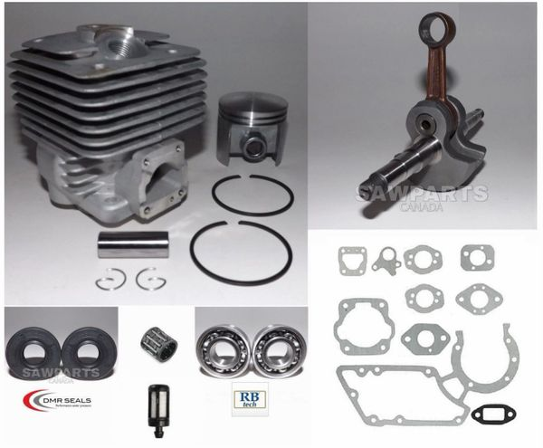 <>STIHL TS360, TS350, S10, 08 OVERHAUL KIT STANDARD 49MM