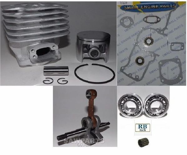 HUSQVARNA 268, 268K BigBore OVERHAUL REBUILD KIT STANDARD 52MM