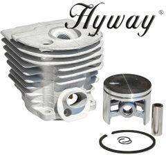 <>HUSQVARNA 55, 51 Hyway brand CLOSED PORT CYLINDER KIT NIKASIL 46MM