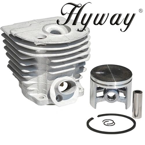 <>HUSQVARNA 55, 51 Hyway brand CLOSED PORT CYLINDER KIT NIKASIL 46MM