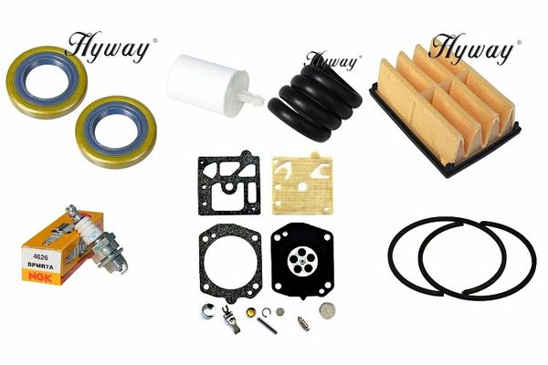 HUSQVARNA 262 TUNE-UP KIT FOR WALBRO CARBURETOR MACHINES
