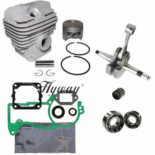 <>STIHL MS440, 044 CYLINDER OVERHAUL KIT STANDARD 50MM 12 PIN