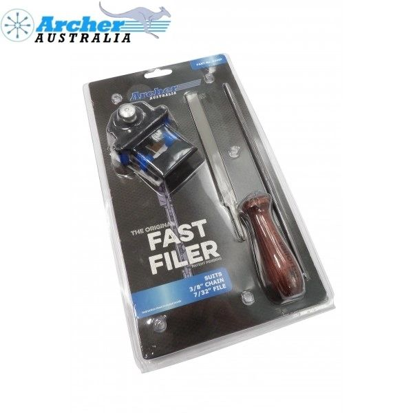 """<>Archer Fast Filer - 7/32"""" TOOL for 3/8"""" pitch chain"""