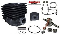 HUSQVARNA 371K, 371, 372, 375, 362, 365 Jonsered 2065, 2071, 2165, 2171 *EPA OVERHAUL REBUILD KIT STANDARD 50MM