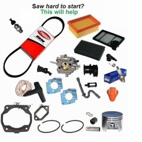 <>STIHL TS400 TUNE-UP KIT WITH PISTON & TILLOTSON CARBURETOR