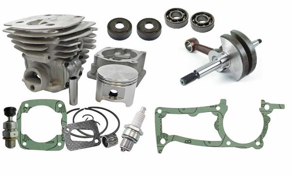 HUSQVARNA 350, 345, 340 Jonsered 2150, 2145, 2141 BIG BORE OVERHAUL KIT STANDARD 45MM
