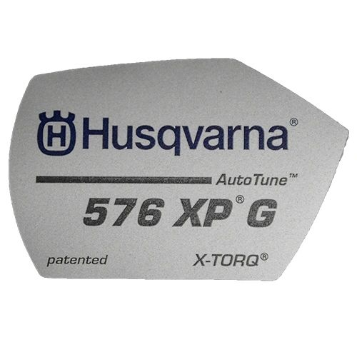 <>HUSQVARNA 576 XPG O.E.M. DECAL