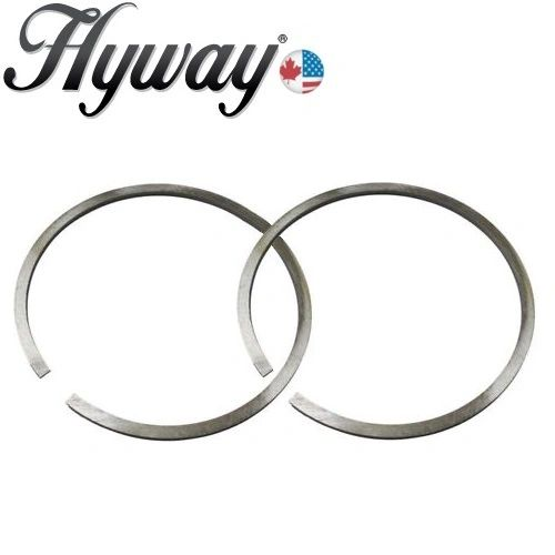 FITS STIHL TS410, TS420 Husqvarna 371, 372 XP, EPA Hyway BRAND PISTON RING SET 50 x 1.2 mm